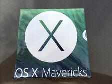 Mac Apple disco installazione OS X 10.9 MAVERICKS nuovo sigillato MULTILINGUA