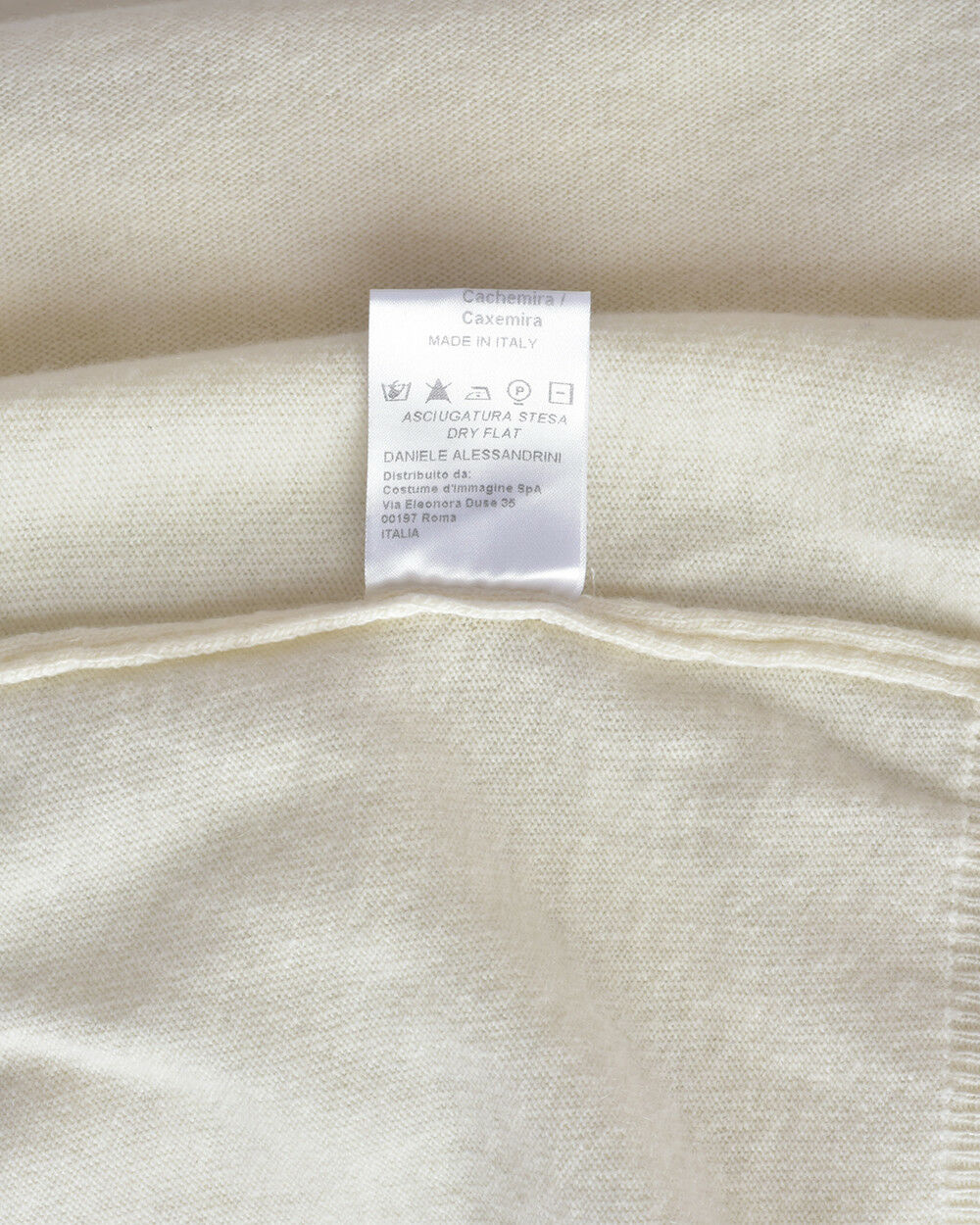 Maglia Maglione Daniele FM31220D3706 Alessandrini Sweater Lana Uomo Panna FM31220D3706 Daniele 12 04897b