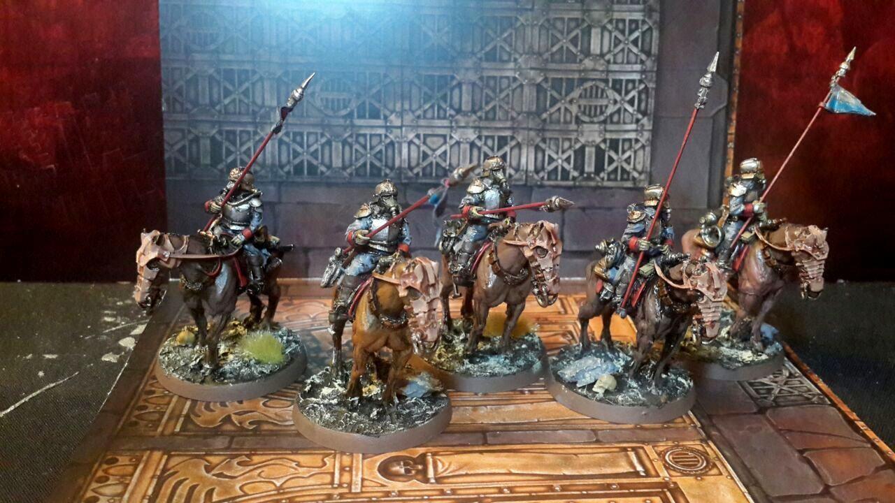 Death Korps de Krieg Muerte Rider escuadrón Pintado Pack 3 Warhammer 40k