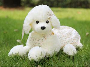 20 50cm Lifelike Toy Poodle Dog Stuffed Animal Plush Toy Soft Toy