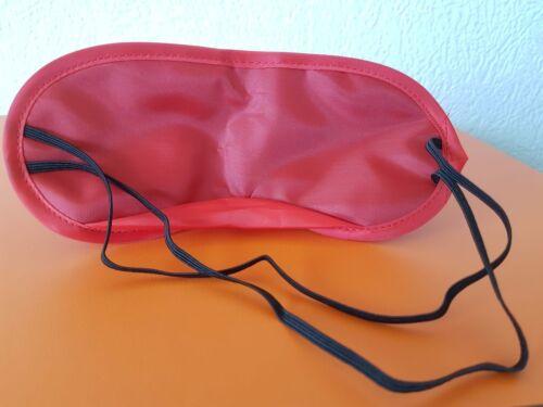 10 sommeil de Lunettes Rouge Yeux Masque Sommeil Masque Bandeau Neuf-expédition depuis Allem.