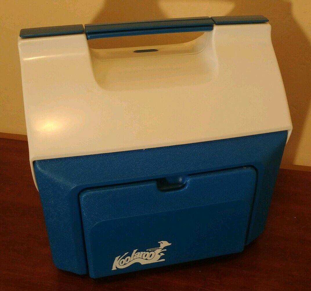 Raro 15 Qt Termo koolaroo Flip Top Cooler pecho de hielo Caja compartimentos seca 7915