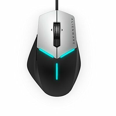 Dell Alienware Advanced Gaming Mouse Black And Silver  -  9 programmable buttons