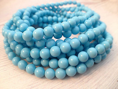 Turkey Turquoise Gemstone Spacer Beads Loose Beads Charm Strand 15.5/'/'