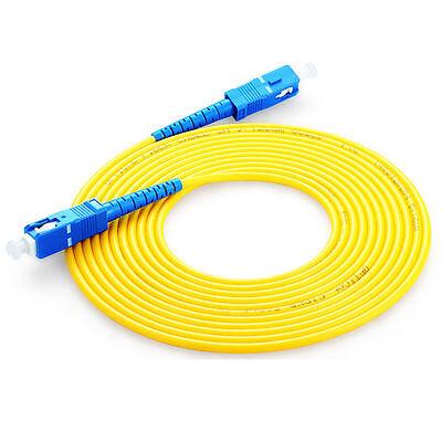 Single Mode SM simplex,9//125,3M//5M//10M SC to SC fiber patch cord jumper cable