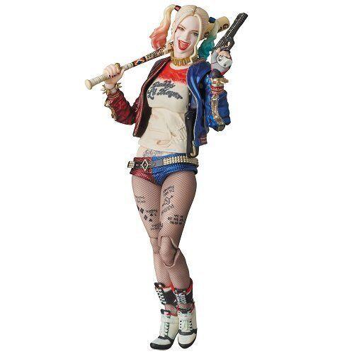 New Medicom Suicide Squad: Harley Quinn MAF EX Action Figure