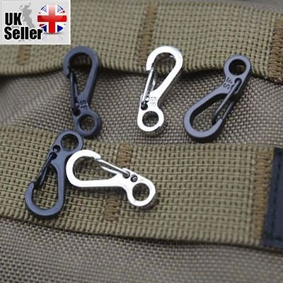 4 Pcs X Carabiner Survival Buscraft Outdoor Hang Buckle Quickdraw Zinc Alloy Uk Sale Overall Discount 50-70% Camping & Hiking Sporting Goods