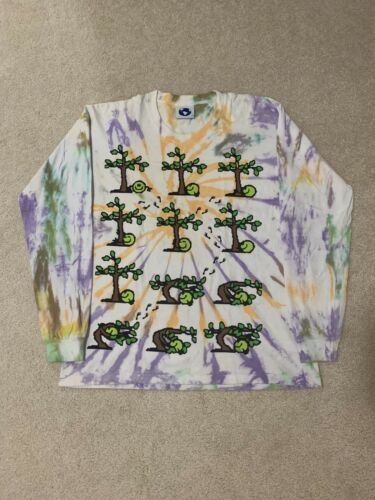M Online Ceramics Tree Hugger Tie Dye L/S Shirt