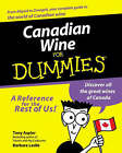 Canadian Wine For Dummies by Tony Aspler, Barbara Leslie (Paperback, 2000)