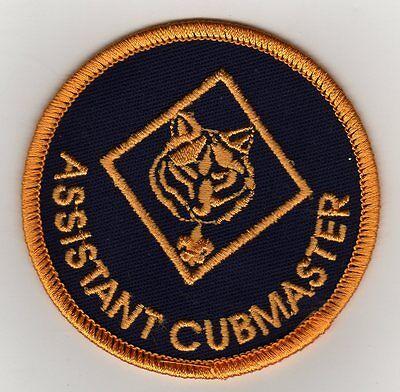 Current Twill Uniform Position Patch Boy Scout BSA Cub Cubmaster 1973