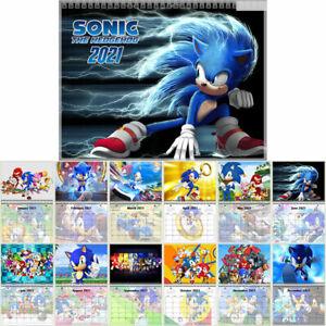 Sega Sonic the Hedgehog 12 Months Wall Calendar Year 2021