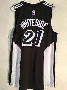 quality design d3aea 2eb45 Adidas Swingman 2015-16 NBA Jersey Miami Heat Hassan ...