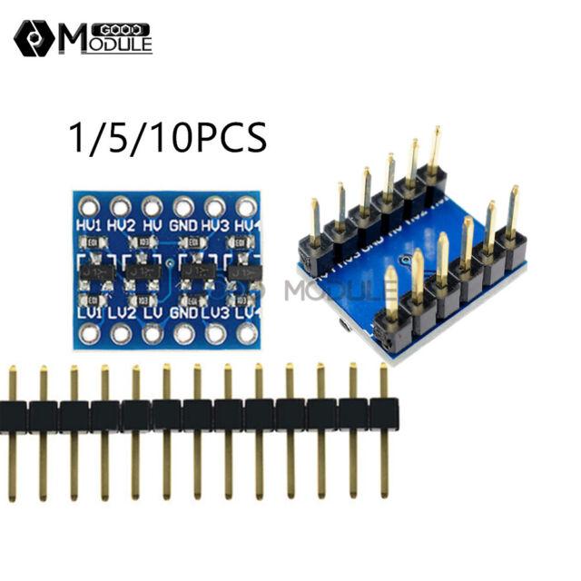5V-3V IIC UART SPI 4 Kanal Pegelwandler Power Level Shifter Arduino Raspberry Pi