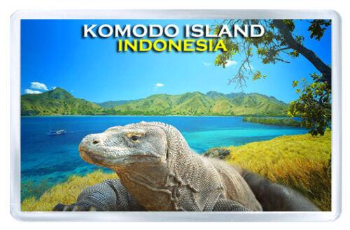 Komodo Island Indonesia MOD4 Fridge Magnet Souvenir Magnet Kühlschrank