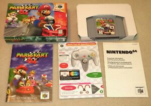 Mario Kart 64 N64 (Nintendo 64, 1997) Complete In Box  CIB  Authentic - Tested