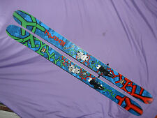 LIBERTY Genome 194cm Fat Powder Full Rocker SKIS w/ Marker Jester 16 Bindings ❅❆