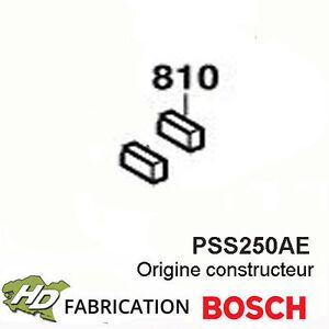 Livraison Rapide Jeu De Charbons Pour Pss 250ae Bosch 2610391290 Un Enrichit Et Nutritif Pour Le Foie Et Les Rein