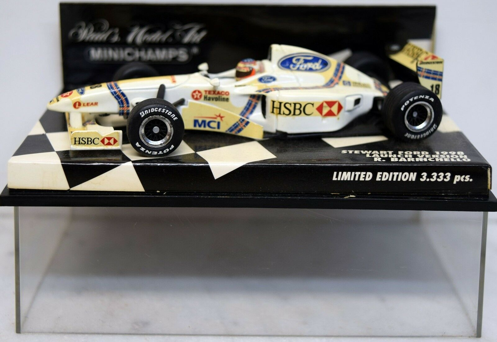 Minichamps 1 43 430970022 stewart ford SF 1, R. barrichello