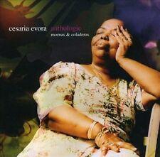 Anthologie: Mornas & Coladeras by Cesária Évora (CD-2002, 2 Discs, Bmg) SEALED