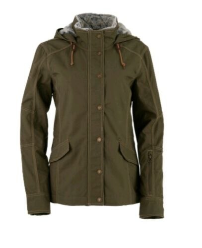 Noble Outfitters Ladies/' Full Flex Jacket w// Hood// medium