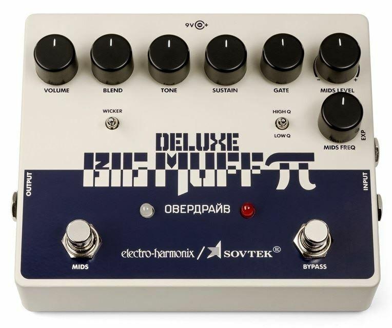 Electro-Harmonix Sovtek Deluxe Muff Pi distorsión Sustainer Big Pedal de de de efectos cdaff2