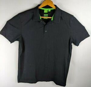 Hugo-Boss-Mens-Polo-Shirt-Green-Label-Modern-Fit-Sz-Medium
