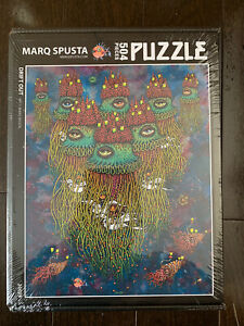 Drift Out Instrumental Puzzle Art by Marq Spusta - Invisible Industries SOLD OUT