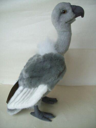 Stofftiere 1 Geier grau Hansa Toy Neu 30 cm Plüschtier 4956 Stofftier aasgeier