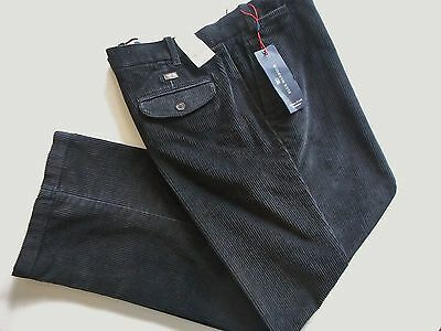 MEN'S M&S BLUE HARBOUR CORDUROY TROUSERS CORDS ZIP FLY 42W 29L BNWT RRP £37.50