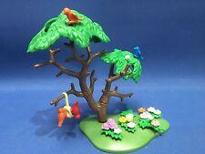 Playmobil árbol con alimentador del pájaro para la vida de la ciudad de La Granja