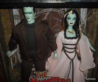 Rare Mattel Barbie & Ken The Munsters Gift Set 2001 Collector Edition