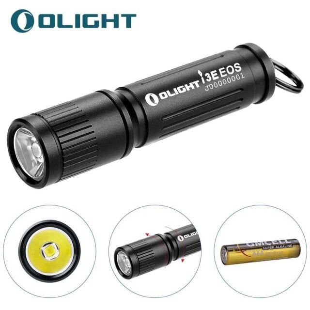 Olight 90 Lumens Keychain LED Flashlight I3e EOS Black With 1x AAA Battery