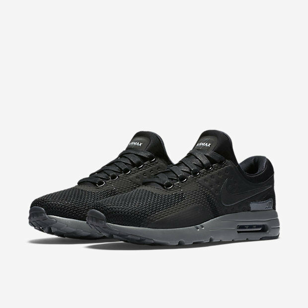 Nike Air Max Zero QS Fog Tinker Hatfield Black Dark Grey Mens Running 789695 001 UK 10