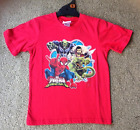 NEW Genuine Licensed Marvel Ultimate Spiderman Boys Red T-Shirt - Size 5