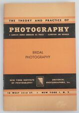 BRIDAL PHOTOGRAPHY BOOKLET, NEW YORK INSTITUTE OF PHOTOGRAPHY