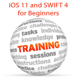 Details about iOS 11 and SWIFT 4 for BEGINNERS - Video Training Tutorial DVD