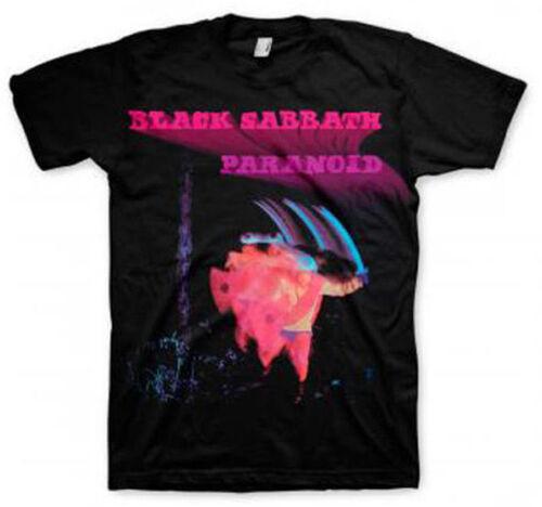 L XL 2XL Black T-Shirt M Black Sabbath Paranoid S