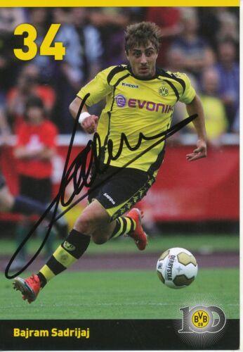 Bajram Sadrijaj  Borussia Dortmund 2009//2010 Autogrammkarte signiert  273854
