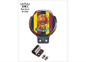 IngéNieux Royale Classic Car Badge & Clip - 15 19 Rois Royal Hussars Trf B1.3056-afficher Le Titre D'origine