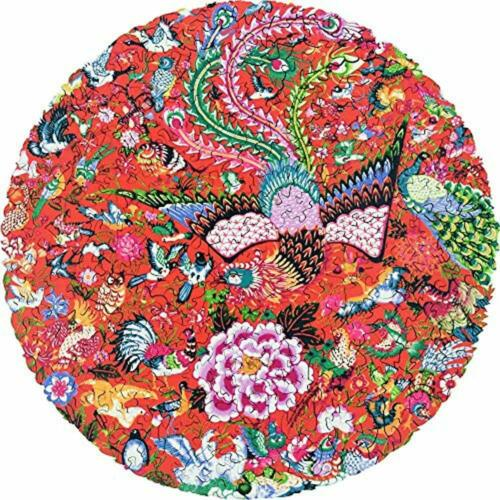 Jigsaw Puzzles Wooden Puzzles-Hundred Birds Paying Homage To The Phoenix 253 For