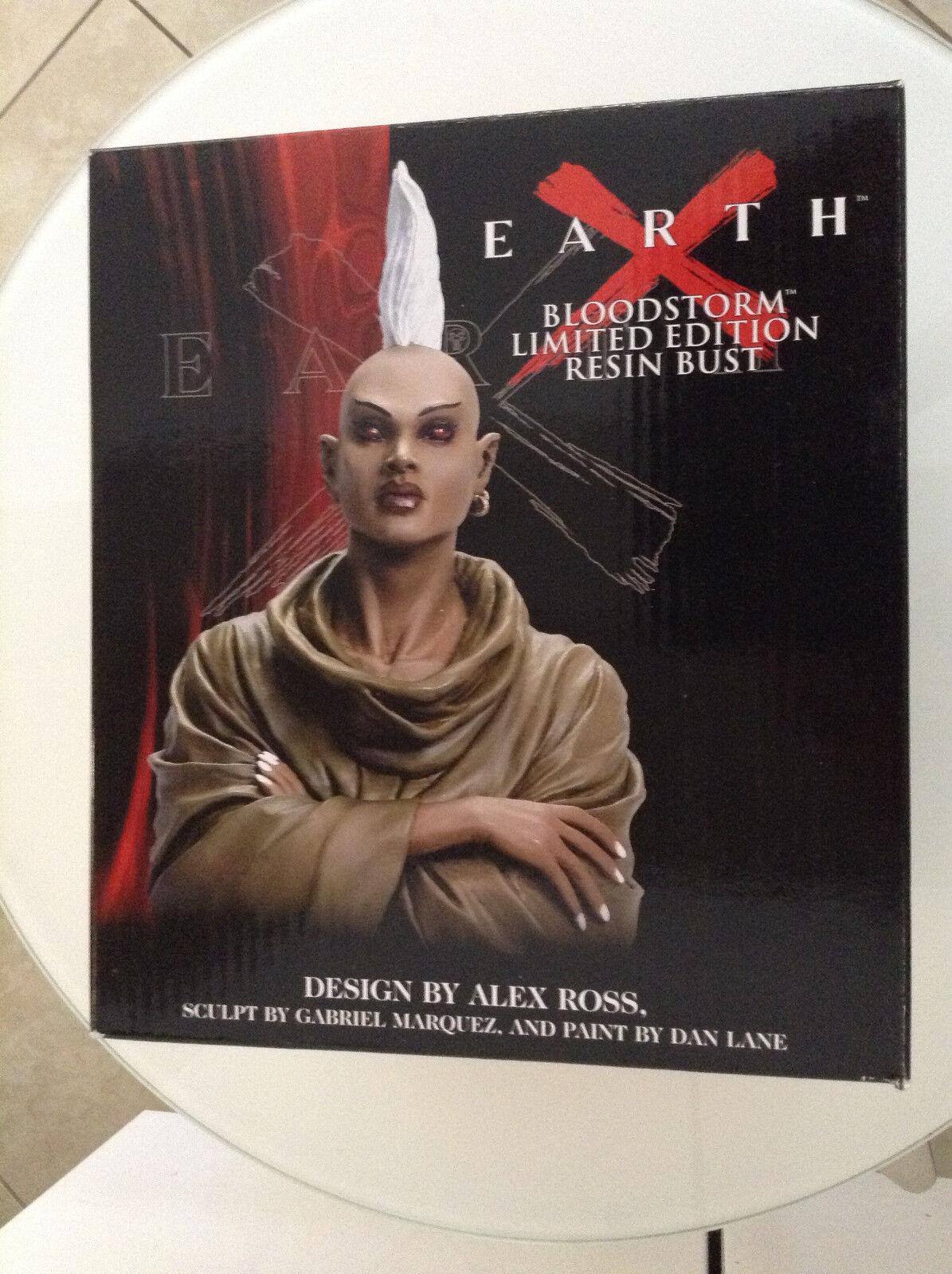 compra en línea hoy Tierra X Bloodstorm busto nuevo Alex Alex Alex Ross fuerzas dinámicas Marvel X-Men Azul 123456789  ganancia cero