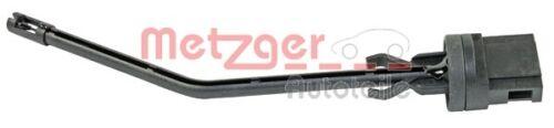Metzger sensor interior temperatura 0905442 el evaporador 2 pines para VW Polo Fox