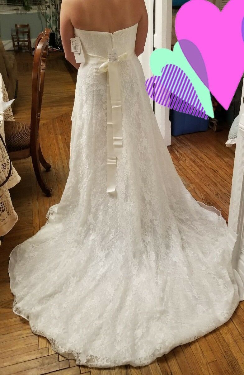 Brand New lace size 12 wedding dress with tags 2018