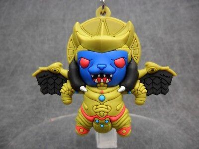 Yellow Ranger Key Chain Power Rangers NEW Mighty Morphin Blind Bag Keychain