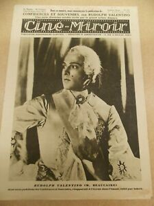 MONSIEUR-BEAUCAIRE-1924-RUDOLPH-VALENTINO-ORIG-FRENCH-FILM-MAGAZINE