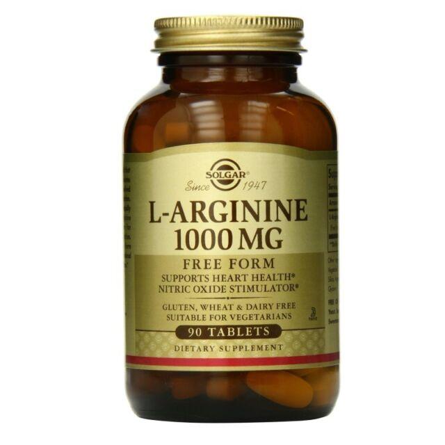 Solgar L-Arginine 1000 mg Tabs 90