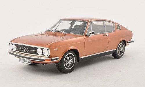 BoS 1970 Audi 100 Coupe S Copper Coloree Limited Edition of 1000 1 18 Scale. Rare
