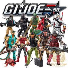 "Hasbro GI Joe 50th Anniversary Exclusive 3.75"" Figure 2-Packs Set of 5 IN STOCK"