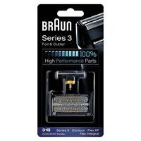 [Braun]31B 5000/6000 Series 3 Flex XP Integral Shaver Foil + Cutter Replacement