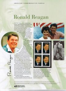 730-37c-President-Ronald-Reagan-3897-USPS-Commemorative-Stamp-Panel